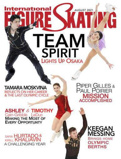 International Figure Skating Magazine August 1st, 2021 Issue Cover