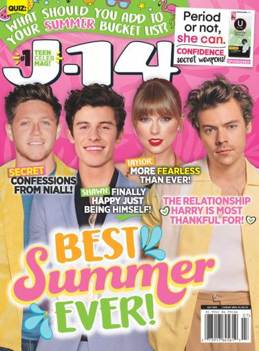 J-14 Magazine July 1st, 2021 Issue Cover