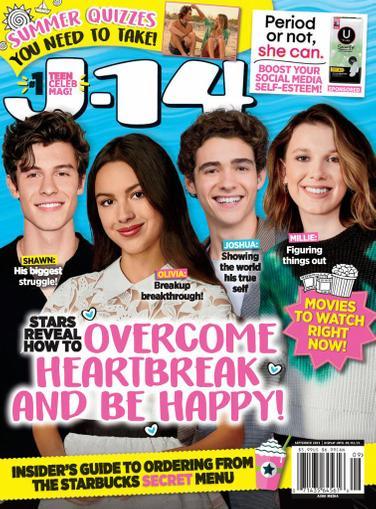 J-14 Magazine September 1st, 2021 Issue Cover