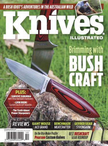 Knives Illustrated Magazine September 1st, 2020 Issue Cover