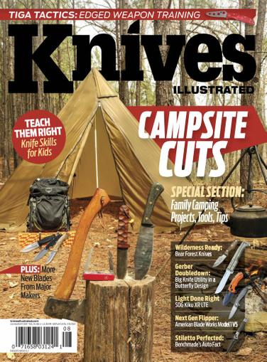 Knives Illustrated Magazine July 1st, 2021 Issue Cover