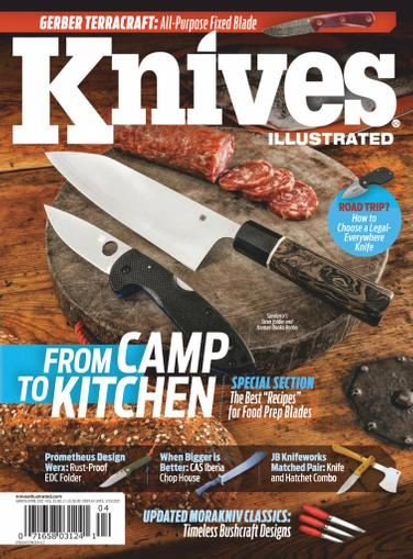 Knives Illustrated Magazine March 1st, 2021 Issue Cover