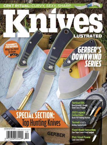 Knives Illustrated Magazine September 1st, 2021 Issue Cover