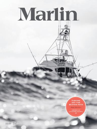 Marlin Magazine August 1st, 2020 Issue Cover
