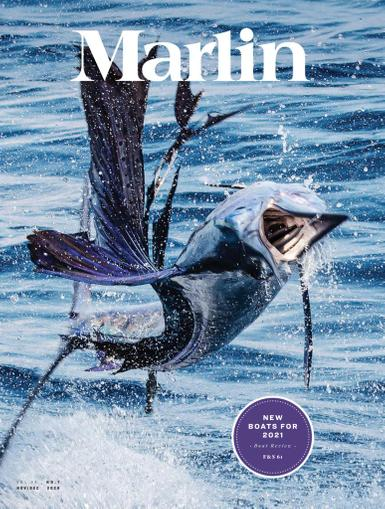 Marlin Magazine November 1st, 2020 Issue Cover