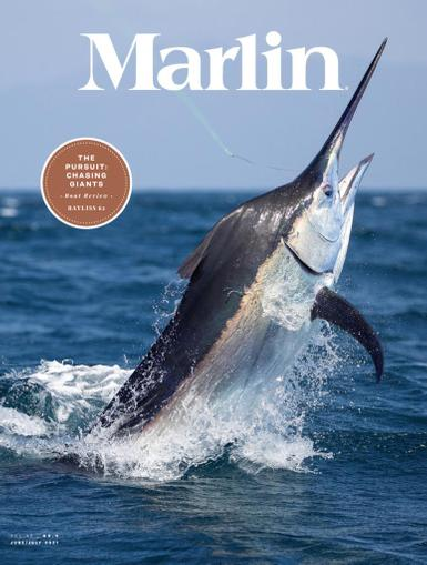 Marlin Magazine June 1st, 2021 Issue Cover