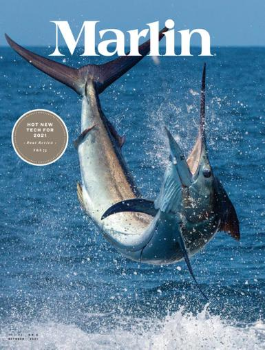 Marlin Magazine October 1st, 2021 Issue Cover