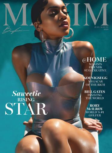 Maxim Magazine June 22nd, 2020 Issue Cover