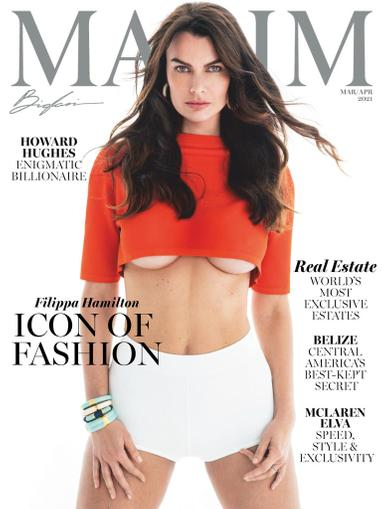 Maxim Magazine March 1st, 2021 Issue Cover