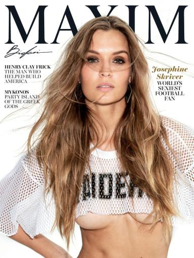 Maxim Magazine September 1st, 2021 Issue Cover