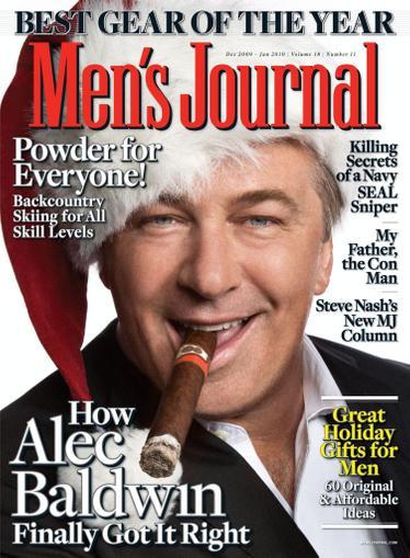 Men's Journal Magazine December 4th, 2009 Issue Cover