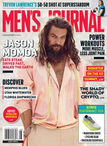 Men's Journal Magazine July 1st, 2021 Issue Cover