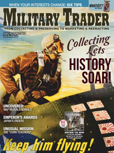Military Trader Magazine August 1st, 2020 Issue Cover
