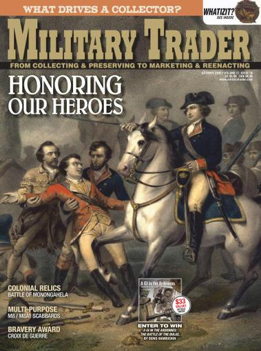 Military Trader Magazine October 1st, 2020 Issue Cover