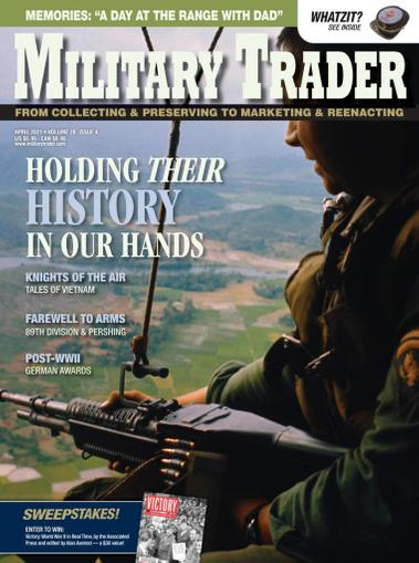 Military Trader Magazine April 1st, 2021 Issue Cover