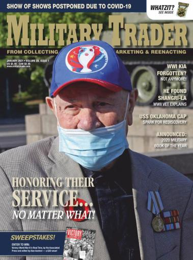 Military Trader Magazine January 1st, 2021 Issue Cover