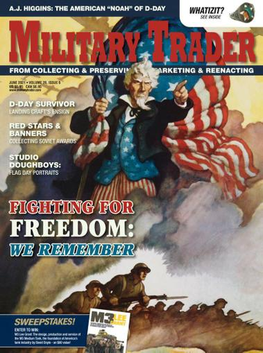 Military Trader Magazine June 1st, 2021 Issue Cover