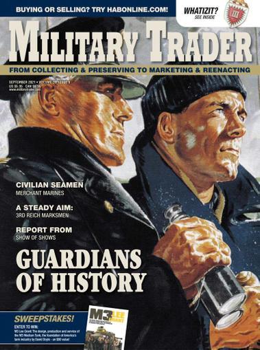 Military Trader Magazine September 1st, 2021 Issue Cover