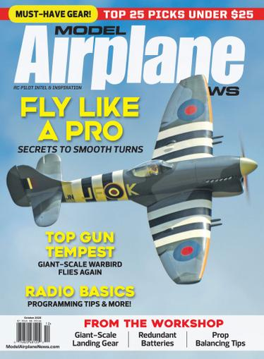 Model Airplane News Magazine October 1st, 2020 Issue Cover