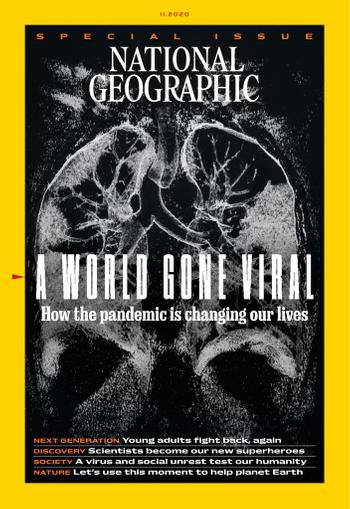 National Geographic Magazine November 1st, 2020 Issue Cover