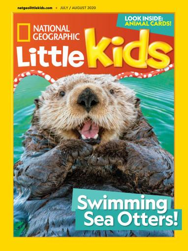 National Geographic Little Kids Magazine July 1st, 2020 Issue Cover