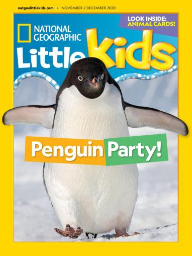 National Geographic Little Kids Magazine November 1st, 2020 Issue Cover