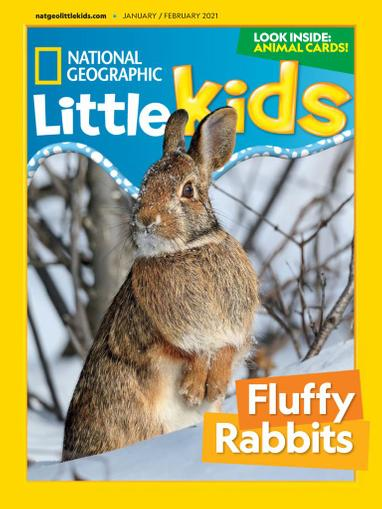 National Geographic Little Kids Magazine January 1st, 2021 Issue Cover