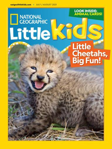 National Geographic Little Kids Magazine July 1st, 2021 Issue Cover