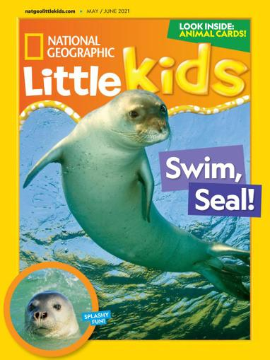 National Geographic Little Kids Magazine May 1st, 2021 Issue Cover