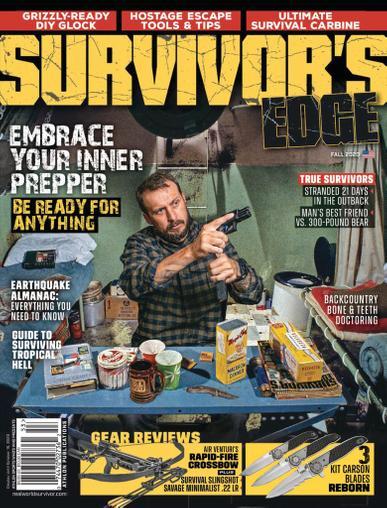 Survivor's Edge Magazine June 29th, 2020 Issue Cover
