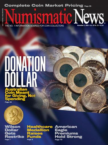 Numismatic News Magazine November 3rd, 2020 Issue Cover