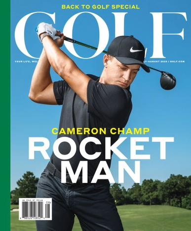 Golf Magazine July 1st, 2020 Issue Cover
