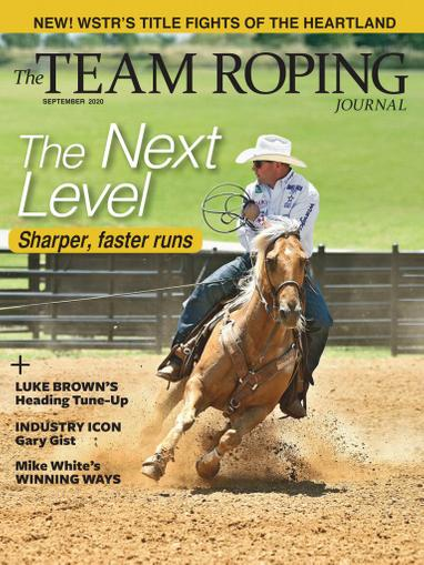 Spin To Win Rodeo Magazine September 1st, 2020 Issue Cover