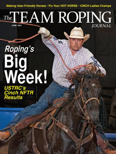Spin To Win Rodeo Magazine June 1st, 2021 Issue Cover