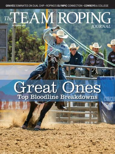 Spin To Win Rodeo Magazine October 1st, 2021 Issue Cover