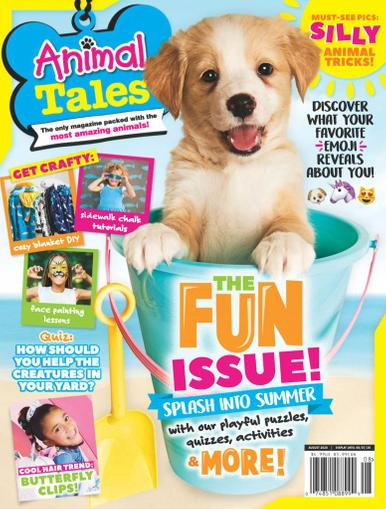 Animal Tales Magazine August 1st, 2020 Issue Cover
