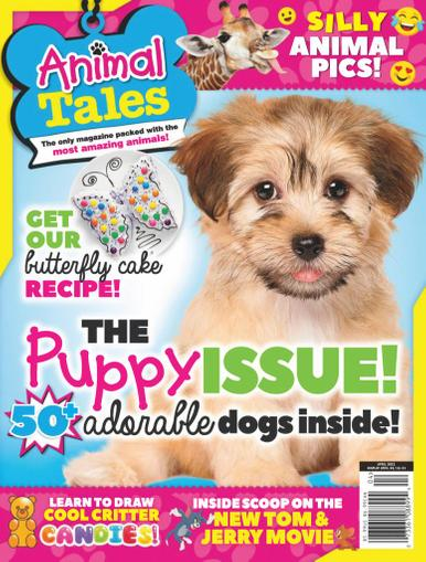 Animal Tales Magazine April 1st, 2021 Issue Cover