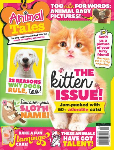 Animal Tales Magazine June 1st, 2021 Issue Cover