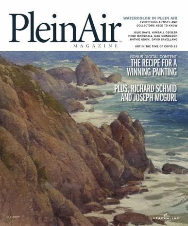 PleinAir Magazine June 1st, 2020 Issue Cover