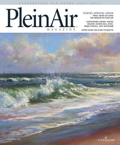 PleinAir Magazine August 1st, 2021 Issue Cover
