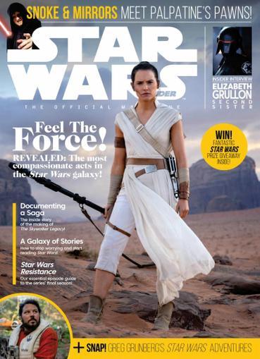 Star Wars Insider Magazine November 1st, 2020 Issue Cover