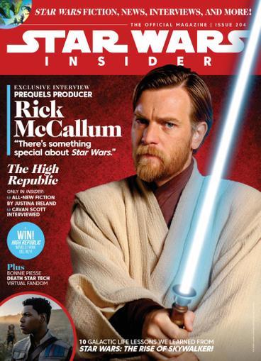 Star Wars Insider Magazine August 1st, 2021 Issue Cover