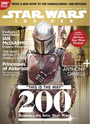 Star Wars Insider Magazine March 1st, 2021 Issue Cover