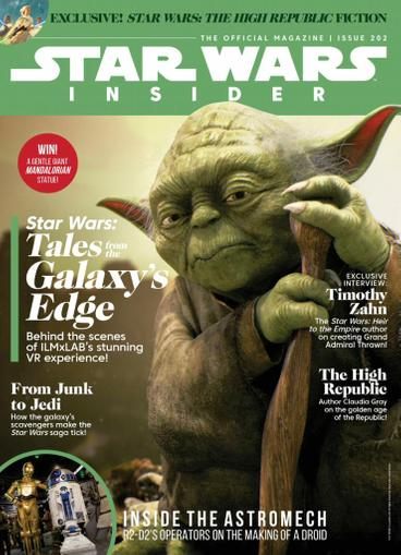 Star Wars Insider Magazine May 1st, 2021 Issue Cover