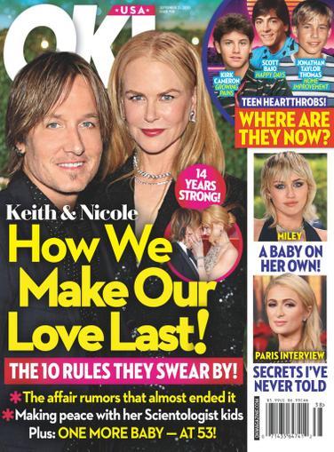 OK! Magazine September 21st, 2020 Issue Cover