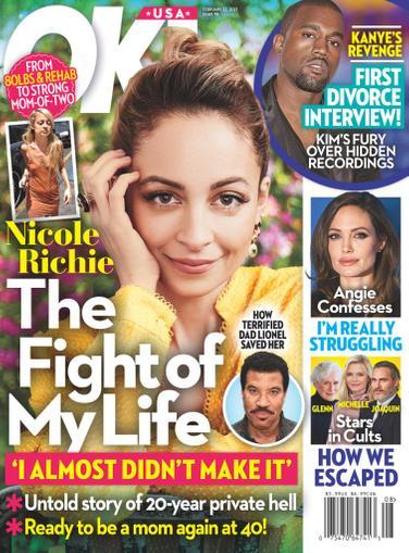 OK! Magazine February 22nd, 2021 Issue Cover