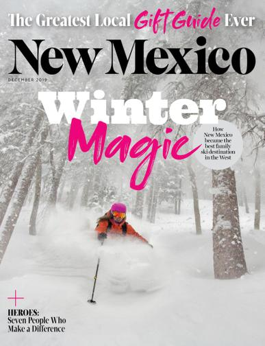New Mexico Magazine December 1st, 2019 Issue Cover