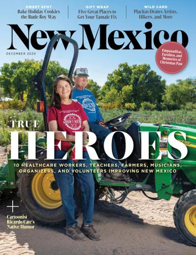 New Mexico Magazine December 1st, 2020 Issue Cover