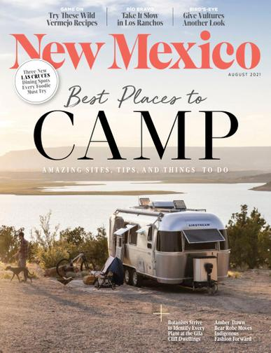 New Mexico Magazine August 1st, 2021 Issue Cover