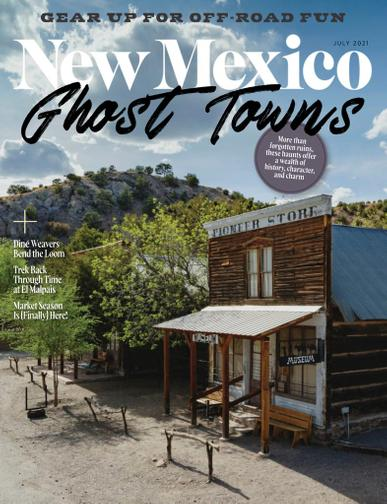 New Mexico Magazine July 1st, 2021 Issue Cover